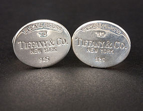 Stores Gideonantiques Items 1224740 Item1224740 Return To Tiffany Cufflinks