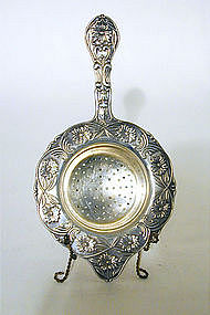 Victorian Silverplate Tea Strainer