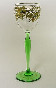 A Bohemian Gilt And Enameled Wine 