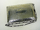 Antique Sterling Silver Coin Purse, Ca 