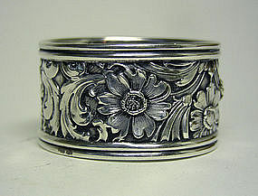 American Victorian Sterling Repousse 
