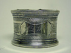 An American Victorian Silver Napkin Ring