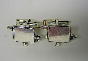 Vintage Silver Movie Camera Form 