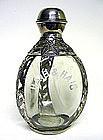 Vintage Silver Overlay Haig & Haig  Decanter