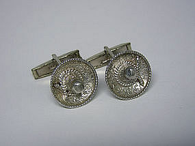Art Deco Alraca Sterling Silver Hat Form 