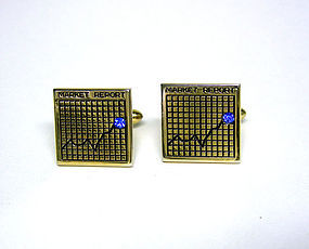 "Vintage Gold Plate ""market Report"" 