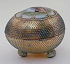 A Nippon Porcelain Egg
