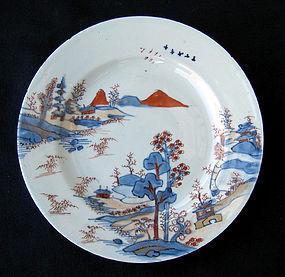 18th century Chinese Imari plate