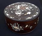Antique Vietnamese dowry box