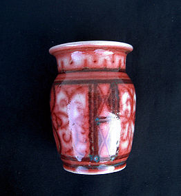 Scandinavian Art D�co, vase by Hjorth, Denmark