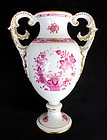 Hungarian Herend urn vase in the Chinese Bouquet pattern