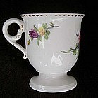 French 18th c sorbet cup
