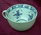 Meissen 18th c blue and white coffee cup