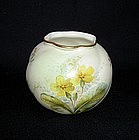 An English Worcester vase