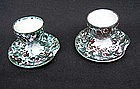 Vallauris pair of egg cups