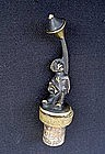 Austrian bronze: Bosse and Baller bottle stopper