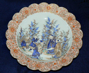 Japanese Imari Porcelain bowl - Fukagawa