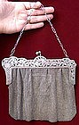 Exquisite Mesh Purse