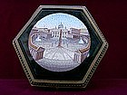 Hexagonal Box with Venetian Mosaics