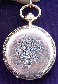 LONGINES 18K Gold Pocket Watch