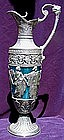 Large Pewter Claret Jug