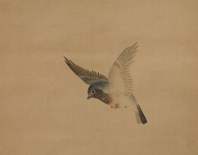Japanese Scroll Painting by Mori Kansai
