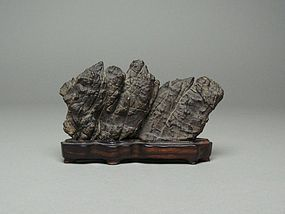 Japanese Natural Viewing Stone Furuya-ishi