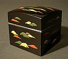 Japanese Lacquer Kogo Incense Box