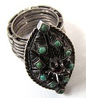 Unusual Antique Ring, Unfolds into Bracelet