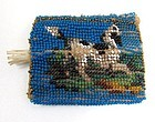 19th C Bead Work -- Pen Rest?