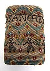 Antique Beadwork Case, Dancing Figures