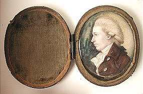 Miniature Portrait of  Gent, English, 1820