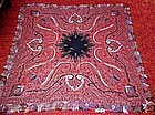 Superb Kashmir Woven & Embroidered Shawl 1830