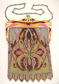 Classic Deco Whiting & Davis Mesh Purse