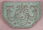 Cool Cut Steel Beaded Silk Purse, Wallet