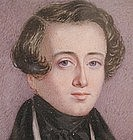 Portrait Miniature of Gent, circa 1840