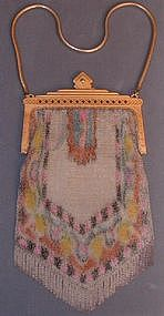 Whiting & Davis Dresden Mesh Purse - Large!
