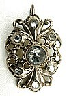 Lovely Austro-Hungarian Pendant with Zircons