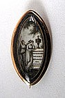 Georgian Mourning Brooch,