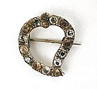 Wonderful Scottish Luckenbooth Brooch, 1820