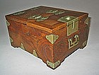 A Fine Korean Zelkova Wood Cosmetic Box (Kyung Dae)