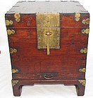 Very  Fine Lacquered Wood Wedding Gift  Box