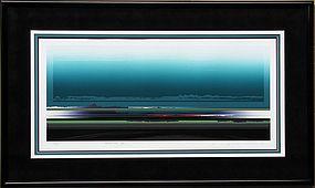 Very  Fine/Large Serigraph Print by Tetsuro Sawada