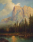 California Oil Yosemite by Maxine Charles Guirard 1933