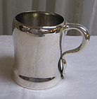 American Sterling Silver Whiting Child's Cup Mug