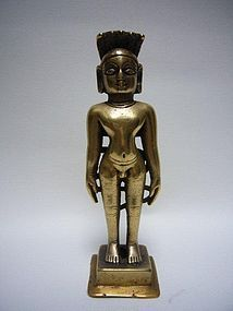 Indian Jain Bronze 23rd Tirthankara 15th/16th Century