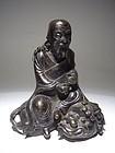 Ming Dynasty Bronze Taoist Deity