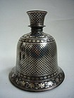 Bidri Ware Huqqa Base India 18th/19th Century