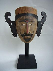 Early Dayak Mask Ex. Coll. Da Silva