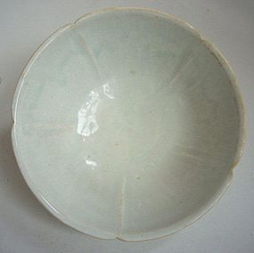 Song Qingbai Lobed Bowl